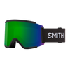 SMITH Squad XL Black - ChromaPop Sun Green Mirror + ChromaPop Storm Rose Flash Snow Goggle