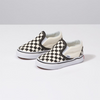 VANS Classic Slip-On Toddler Black/White Checkerboard FOOTWEAR - Youth and Toddler Skate Shoes Vans