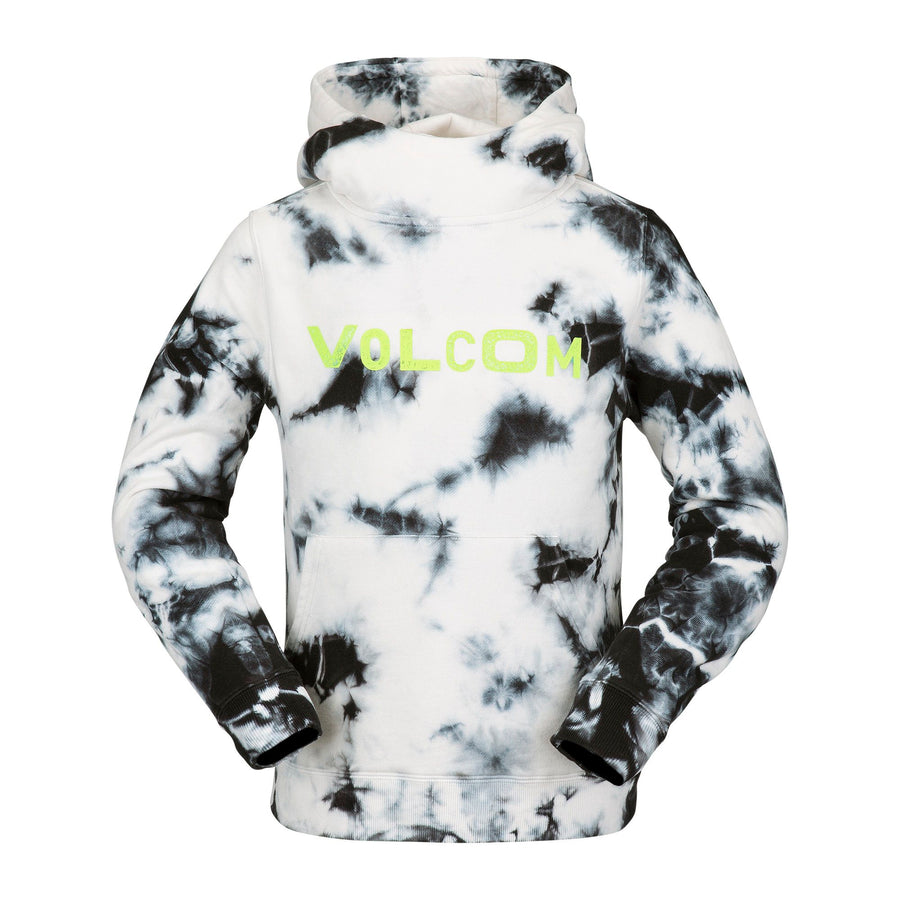 VOLCOM Hotlapper Pullover Hoodie Youth White KIDS APPAREL - Boy's Pullover Hoodies Volcom