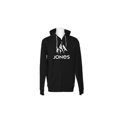 JONES Truckee Zip Hoodie Plain Black