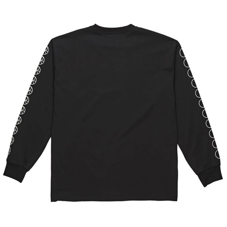 POLAR Racing L/S Shirt Black MENS APPAREL - Men's Long Sleeve T-Shirts Polar