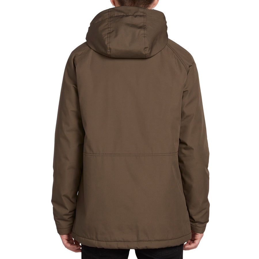 VOLCOM Renton Winter 5K Jacket Major Brown MENS APPAREL - Men's Street Jackets Volcom