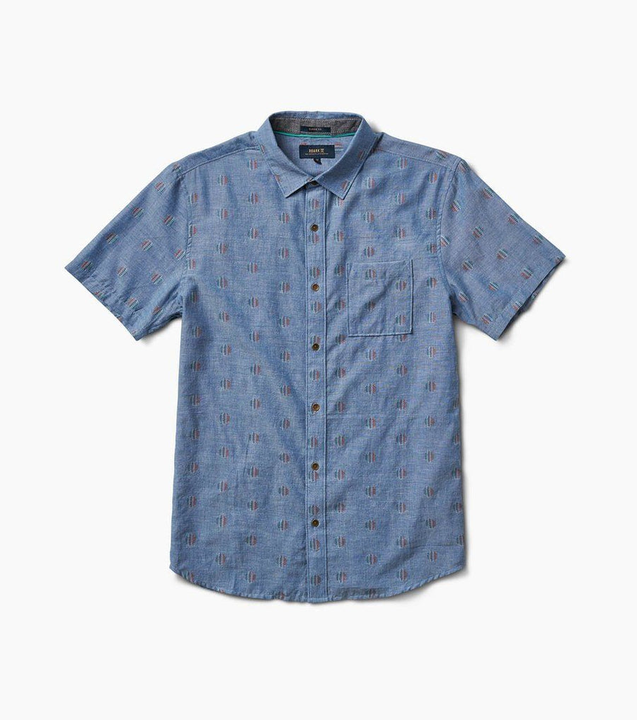 ROARK Tao S/S Button Up Light Blue