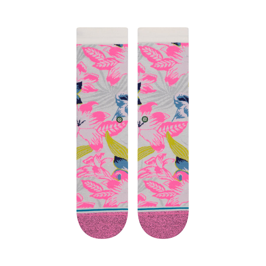 STANCE Tropical Breeze Crew Socks Tropical Pink