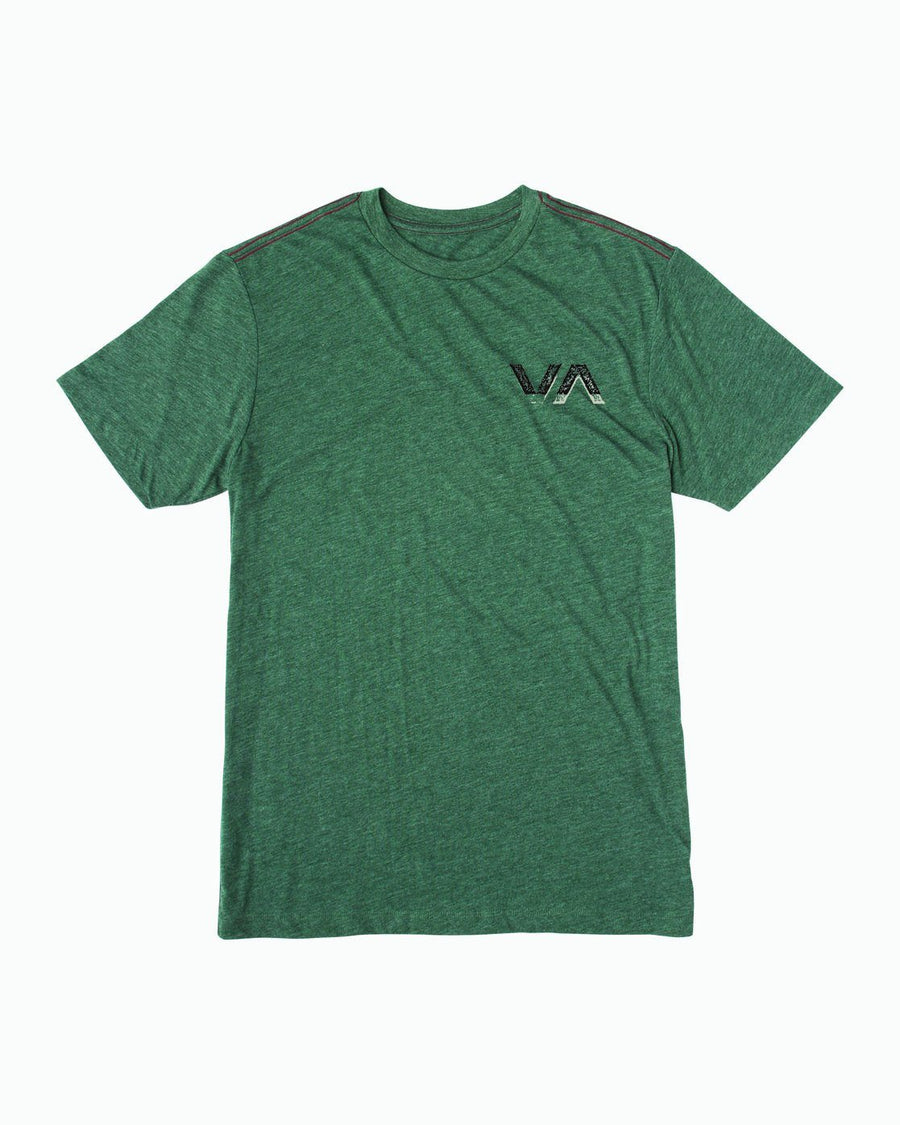RVCA Inside Out T-Shirt Sequoia Green MENS APPAREL - Men's Short Sleeve T-Shirts RVCA