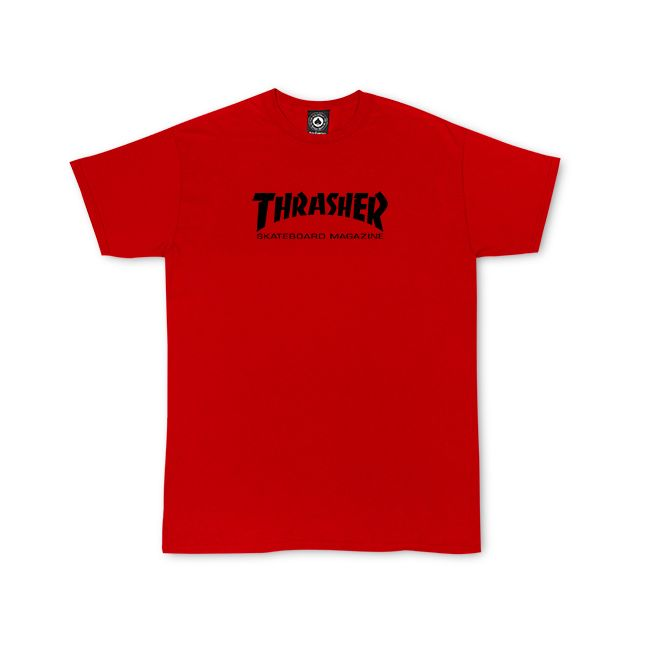 THRASHER Skate Mag T-Shirt Youth Red