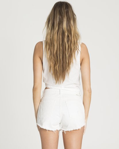 BILLABONG Drift Away Denim Shorts Sea Bleach WOMENS APPAREL - Women's Walkshorts Billabong