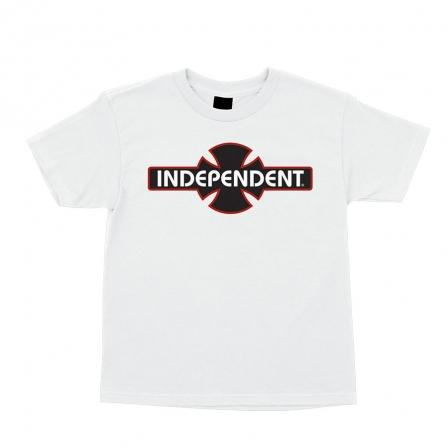 INDEPENDENT O.G.B.C. T-Shirt Youth White KIDS APPAREL - Boy's T-Shirts Independent L