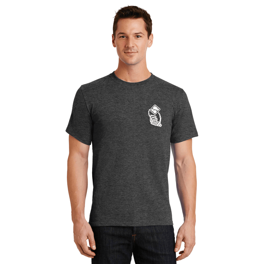FREERIDE Dead Hand T-Shirt Heather Grey MENS APPAREL - Men's Short Sleeve T-Shirts Freeride