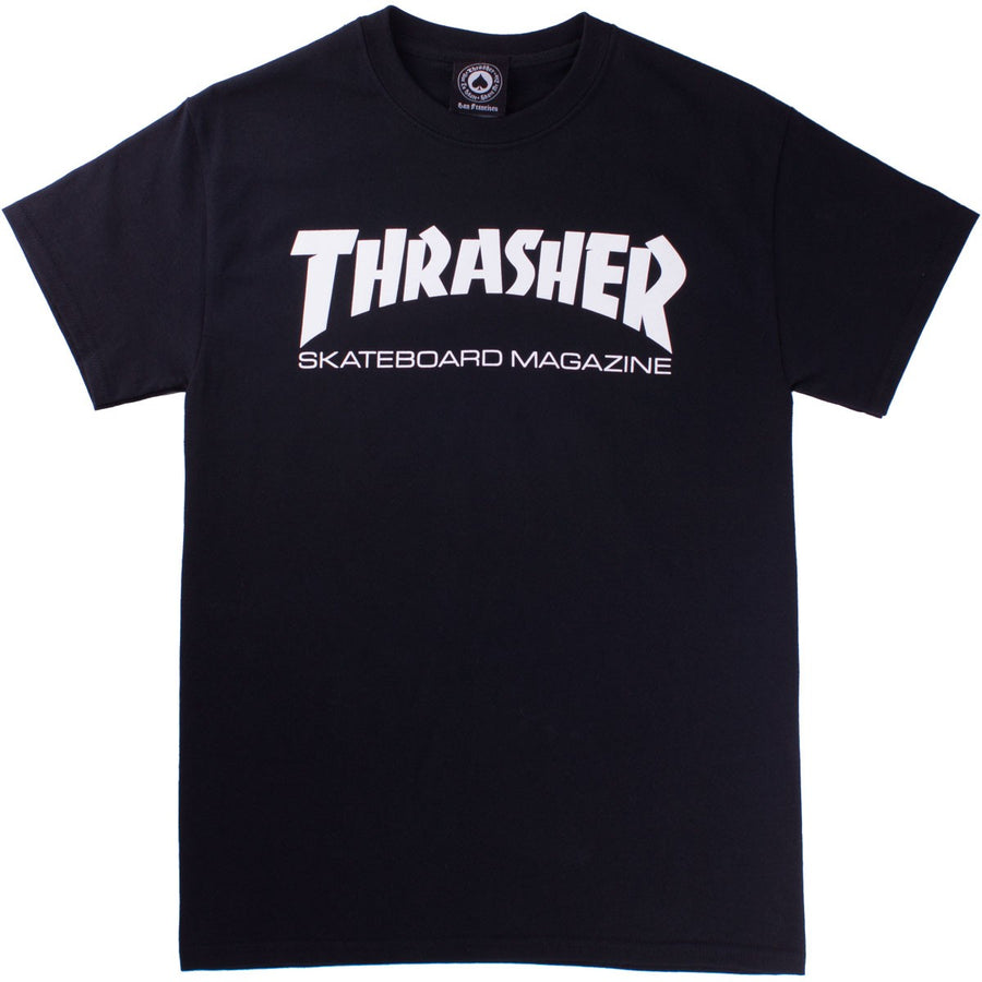 THRASHER Skate Mag T-Shirt Youth Black