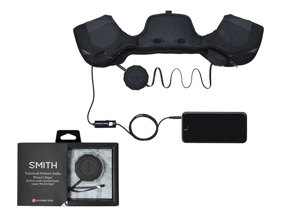 SMITH Outdoor Tech Wired Audio Chips Helmet Speakers SNOWBOARD ACCESSORIES - Men's Snowboard Helmets Smith