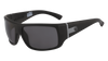 DRAGON Vantage Matte Black H2O - Lumalens Smoke Polarized Sunglasses