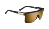 SPY Flynn 5050 Matte Black Gold - HD Plus Bronze w/ Gold Spectra Mirror Sunglasses