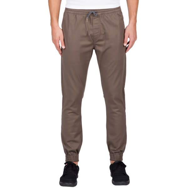 VOLCOM Frickin Slim Joggers Mushroom MENS APPAREL - Men's Joggers Volcom