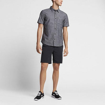 HURLEY One and Only S/S Button Up MENS APPAREL - Men's Short Sleeve Button Up Shirts Hurley