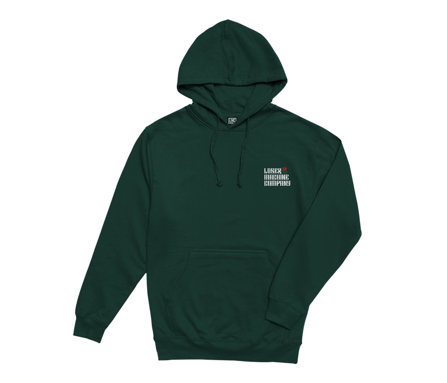 LOSER MACHINE Garden Pullover Hoodie Forest Green MENS APPAREL - Men's Pullover Hoodies Loser Machine