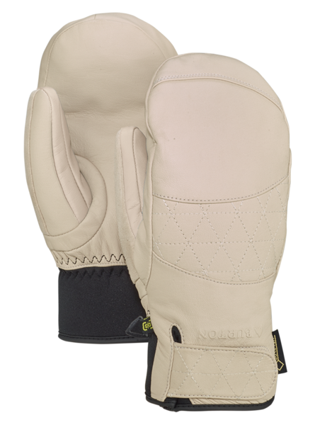 BURTON Gondy GORE-TEX Leather Mitten Women's Creme Brulee