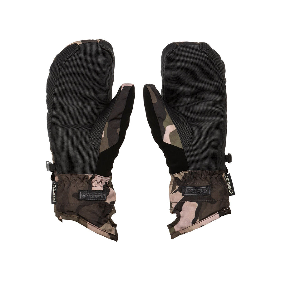 VOLCOM Peep GORE-TEX Women's Mitt Faded Army WINTER GLOVES - Women's Snowboard Gloves and Mitts Volcom