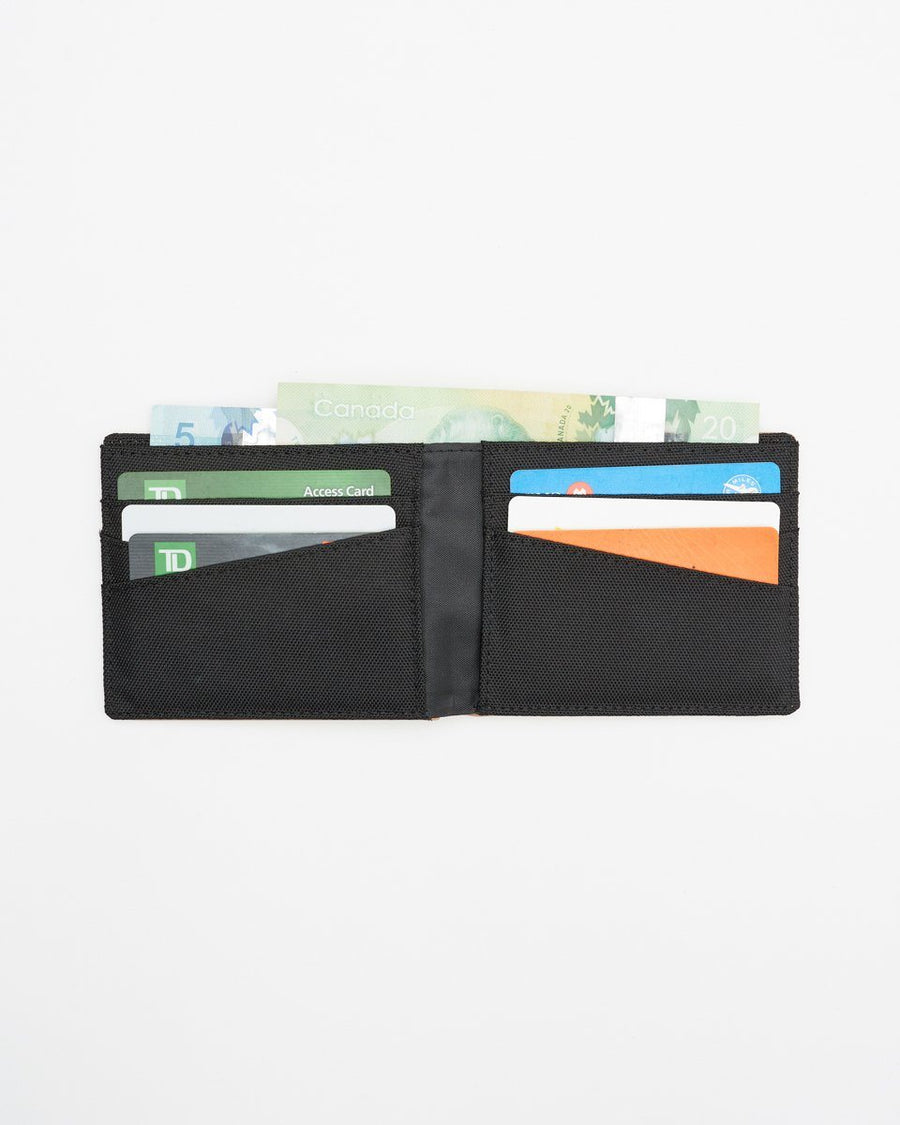 TENTREE Baron Cork Bi-Fold Wallet Cork Fabric MENS ACCESSORIES - Men's Wallets Tentree