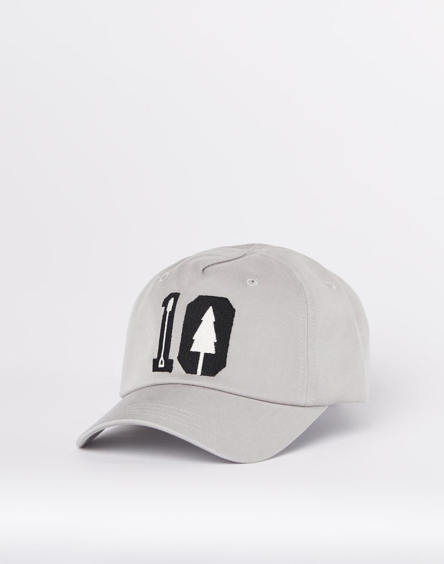TENTREE Peak Cap Hi Rise Grey 10