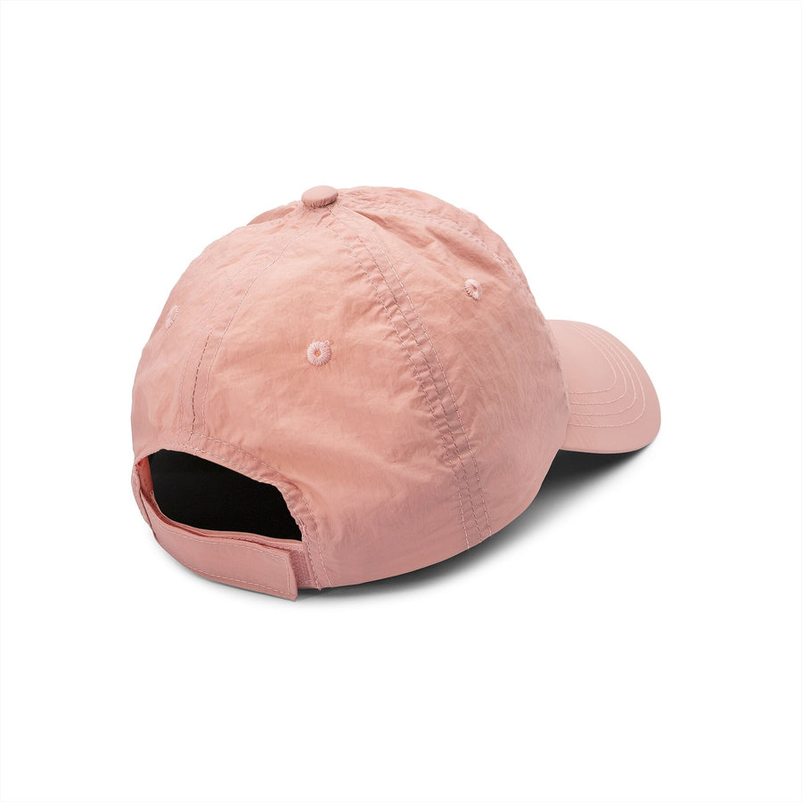 VOLCOM Stop And Pink Velcro Strap Hat Women's Petal Pink