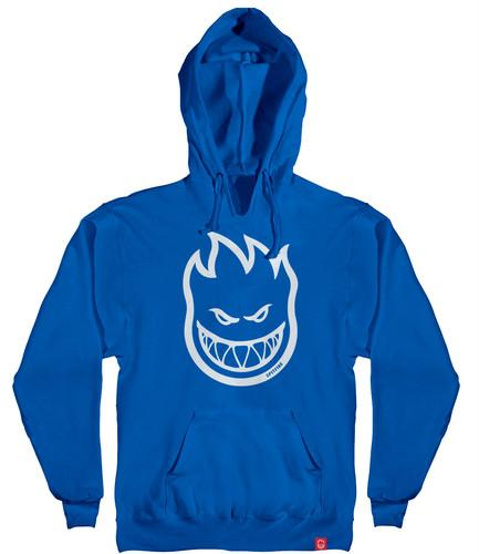 SPITFIRE Bighead Pullover Hoodie Youth Royal/White