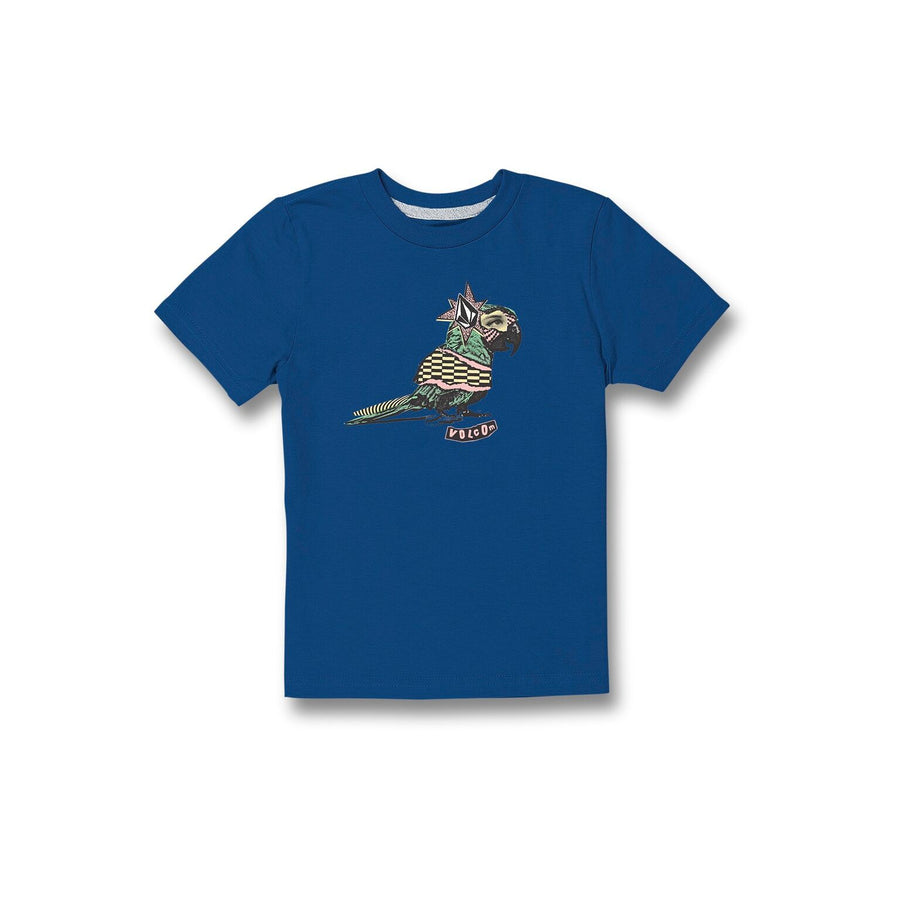 VOLCOM Party Bird T-Shirt Boys Royal KIDS APPAREL - Toddler Short Sleeve T-Shirts Volcom
