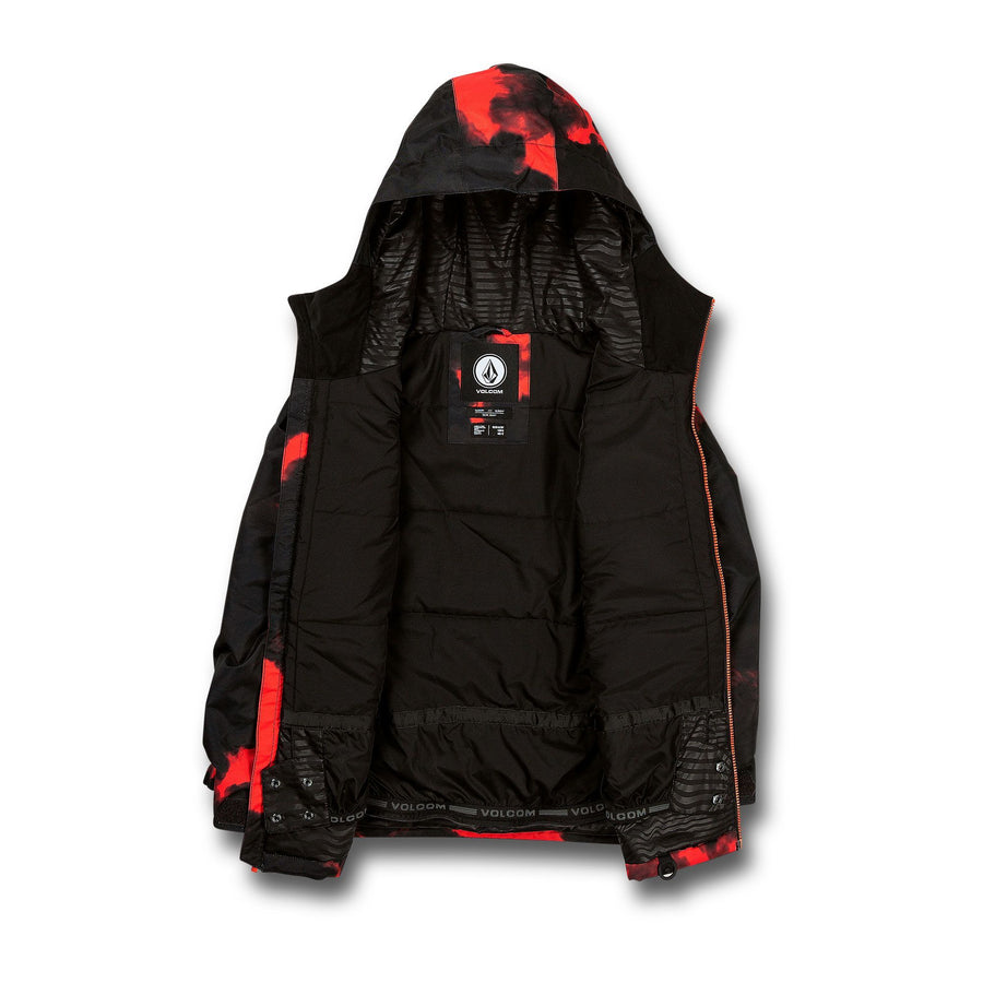 VOLCOM Holbeck Insulated Snowboard Jacket Boys Magma Smoke 2021 YOUTH INFANT OUTERWEAR - Youth Snowboard Jackets Volcom