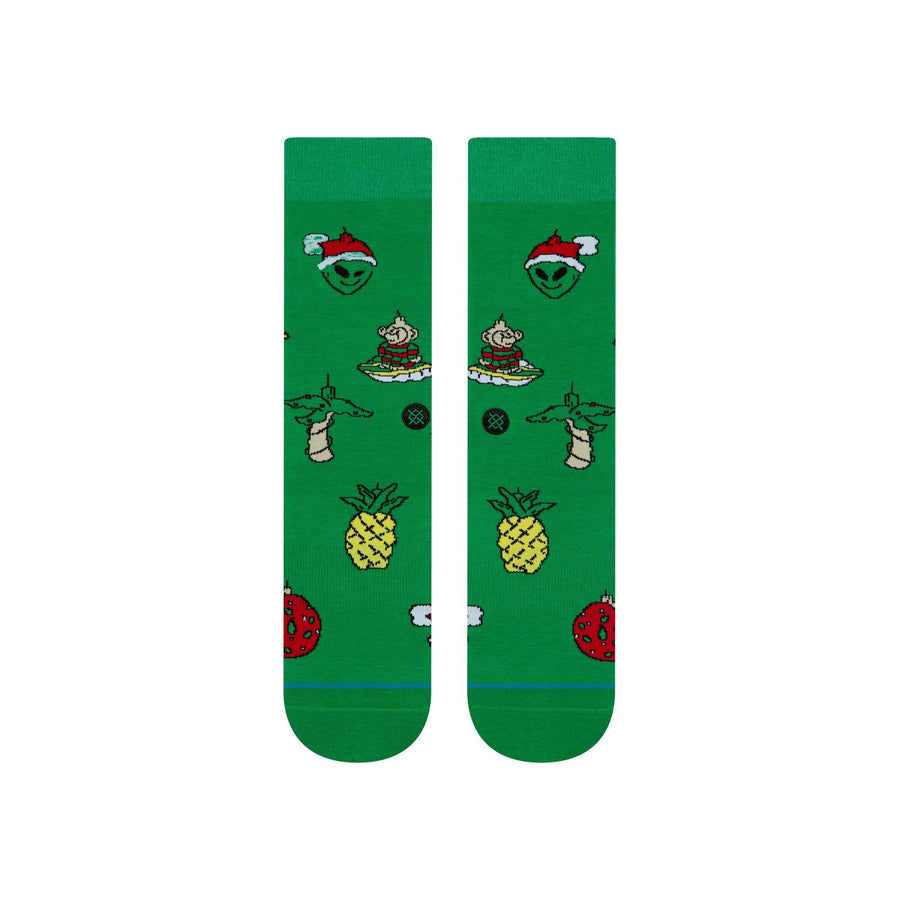 STANCE Xmas Ornimants Socks Green