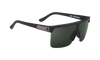 SPY Flynn 5050 Soft Matte Black - HD Plus Grey Green Sunglasses
