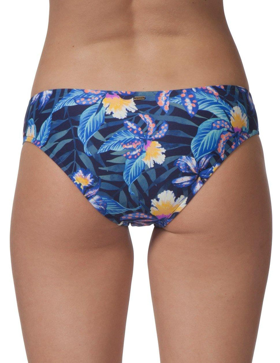 RIP CURL Tropic Tribe Hipster Bikini Bottom Women's WOMENS APPAREL - Women's Swimwear Bottoms Rip Curl NAVY L