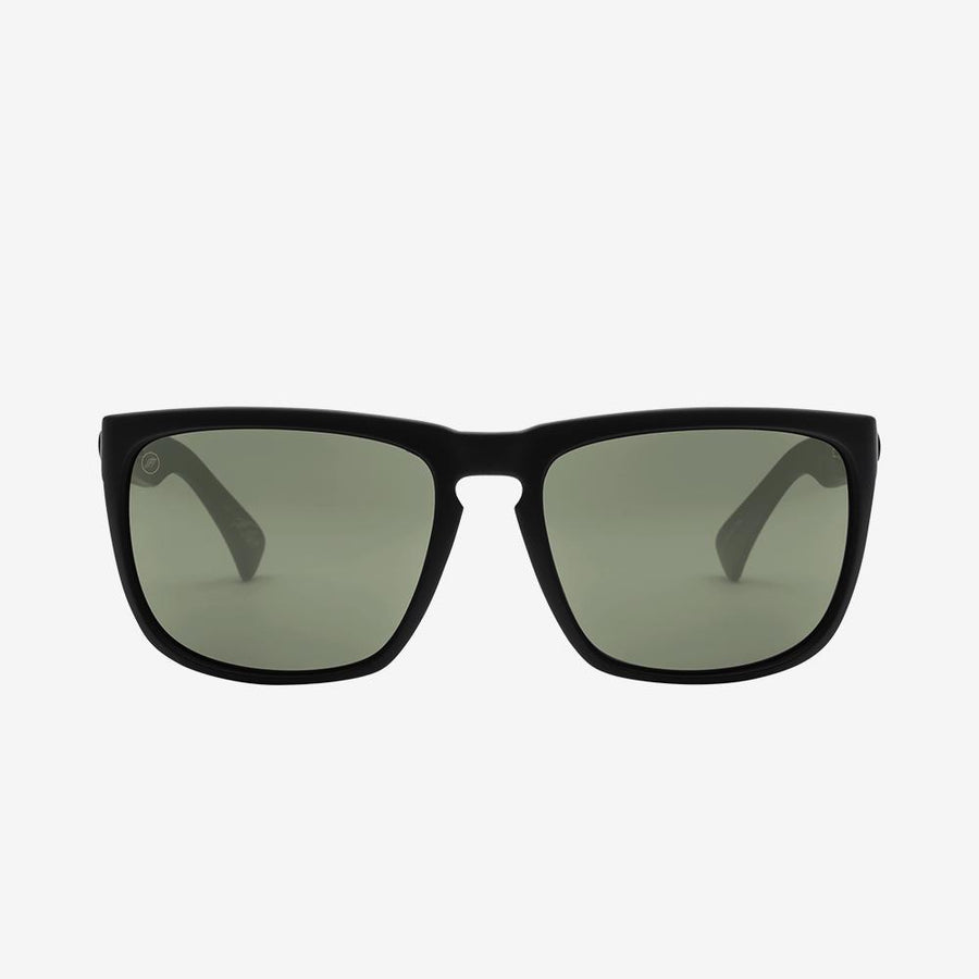 ELECTRIC Knoxville XL Matte Black - Grey Sunglasses SUNGLASSES - Electric Sunglasses Electric