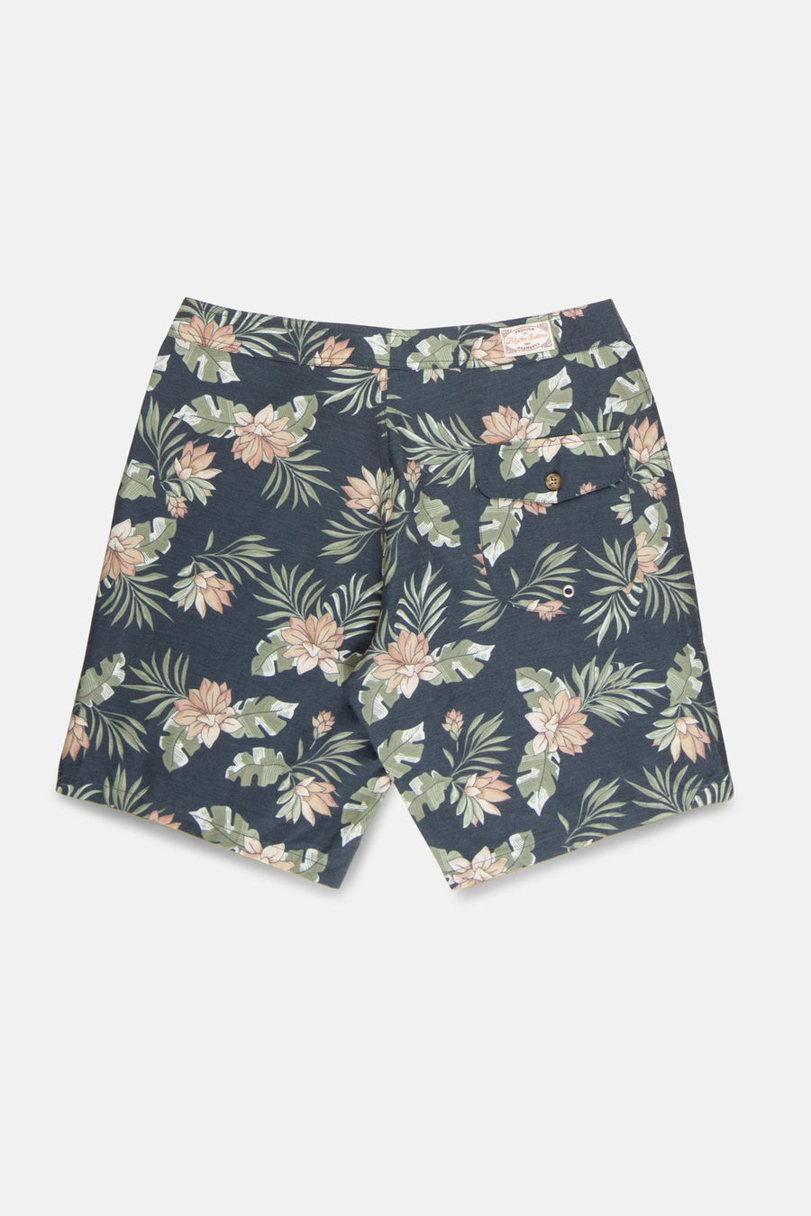 RHYTHM Vintage Palm Trunk Boardshorts Vintage Navy