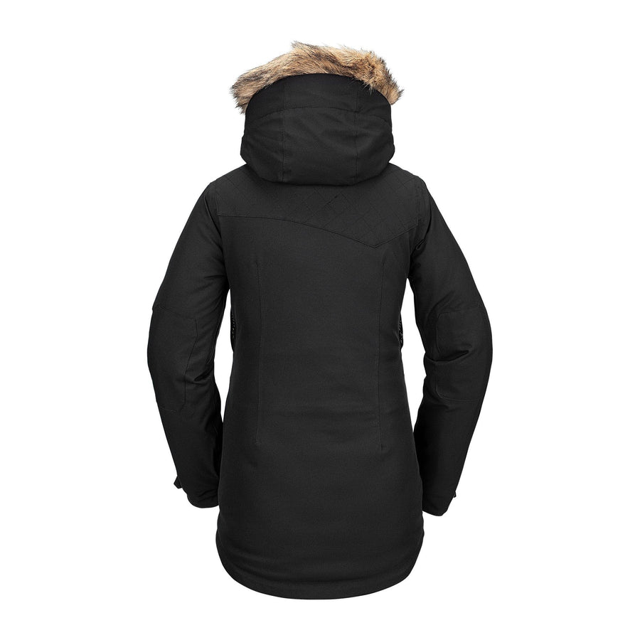 VOLCOM Shadow Insulated Snowboard Jacket Women's Black 2021 WOMENS OUTERWEAR - Women's Snowboard Jackets Volcom