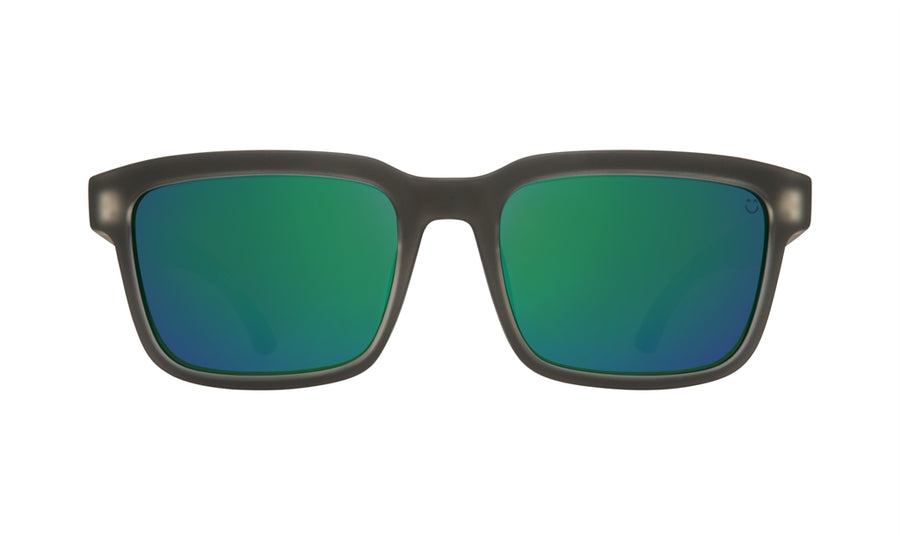 SPY Helm 2 Matte Black Ice - Happy Bronze w/ Emerald Spectra Sunglasses