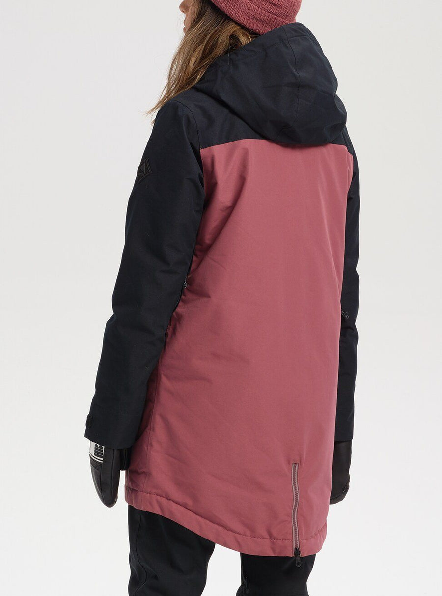BURTON GORE-TEX Eyris Womens Jacket True Black/Rose Brown