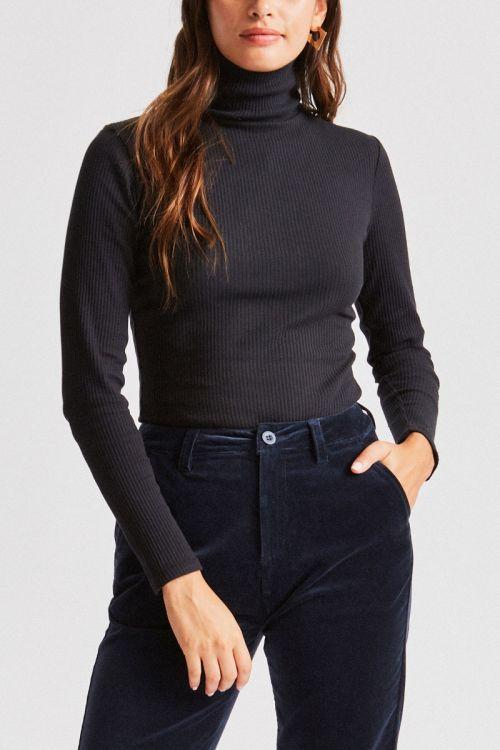 BRIXTON Ashley L/S Turtleneck Women's Black