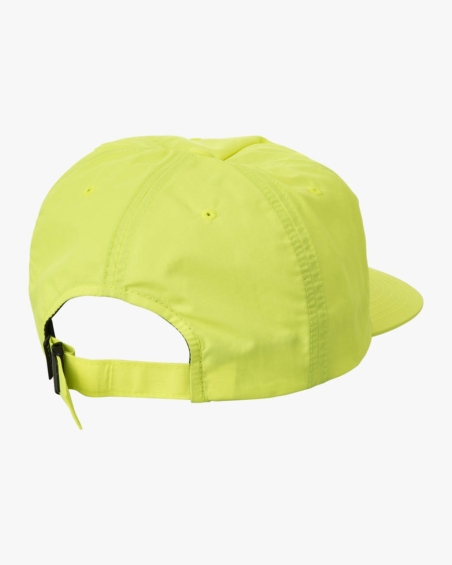 RVCA Graphic Pack Snapback Hat Acid Yellow