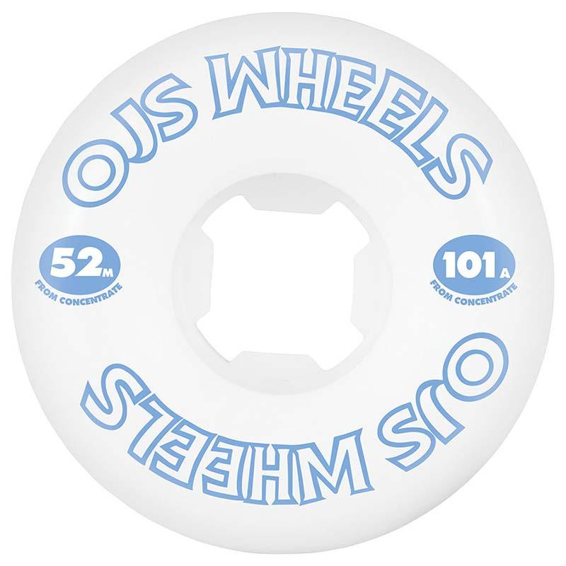 OJS From Concentrate Hardline 101A 52mm Skateboard Wheels