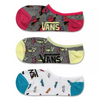 VANS Sk8 Fruit Canoodle 3 Pack Socks Women's Multi