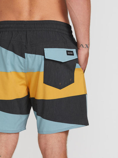 "VOLCOM Knotical 17"" Boardshorts Black MENS APPAREL - Men's Boardshorts Volcom"