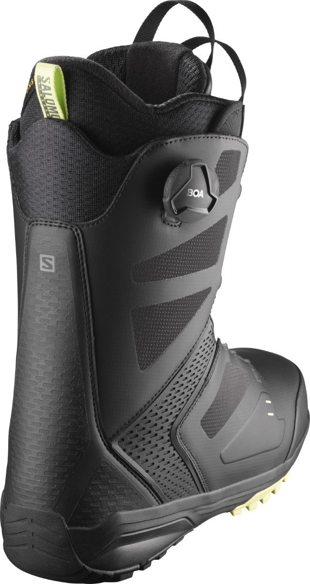 SALOMON Dialogue Dual Boa Snowboard Boots Black/Black/Butterfly 2021
