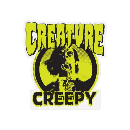 CREATURE Creepy 3.75 Sticker