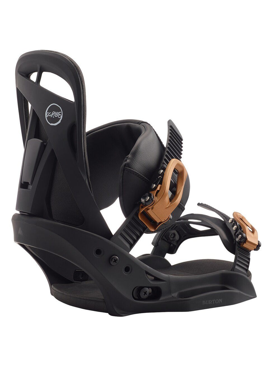 BURTON Scribe EST Women's Snowboard Bindings Black 2020 SNOWBOARD BINDINGS - Women's Snowboard Bindings Burton M