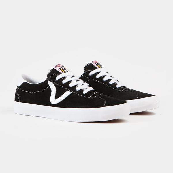 VANS Epoch Sport Pro Shoes Black/ White FOOTWEAR - Men's Skate Shoes Vans