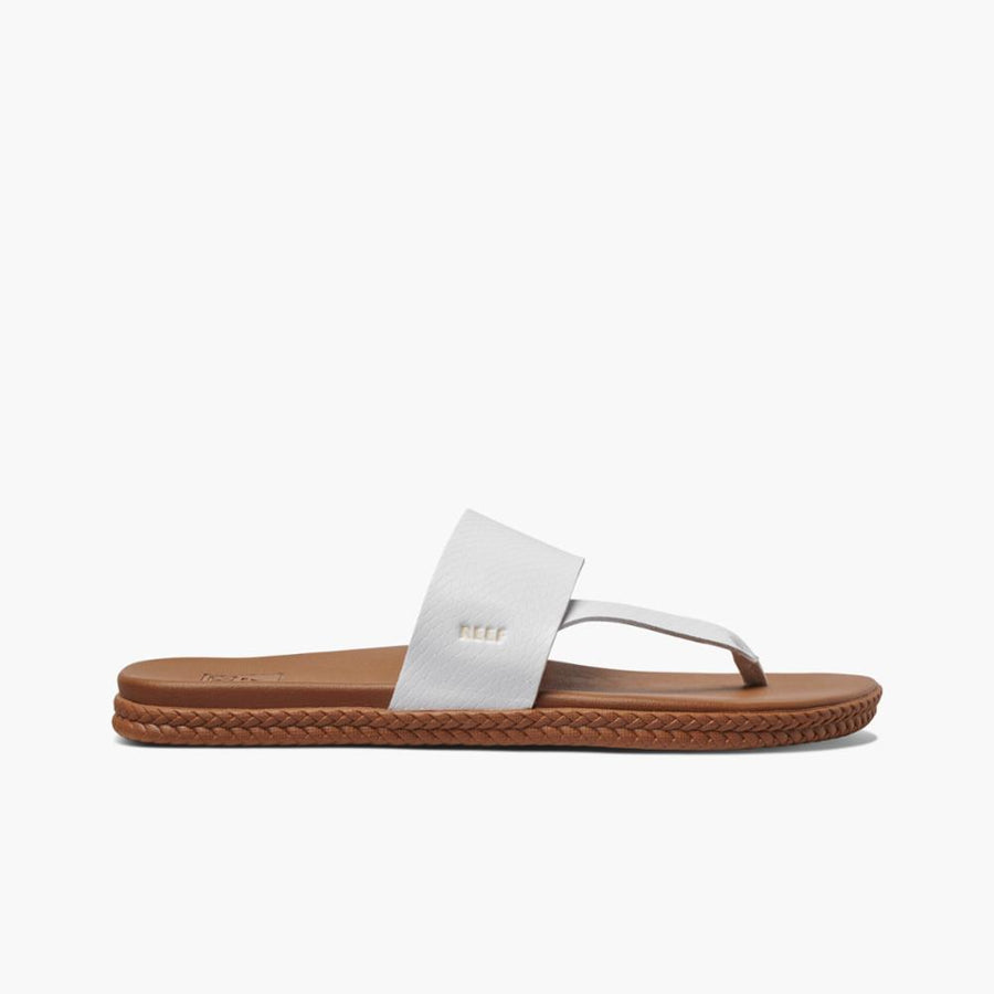 REEF Cushion Bounce Sol Sandals Women's White/Snake