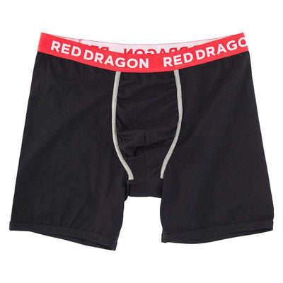 RDS Boxer MENS APPAREL - Men's Underwear RDS BLACK/ RED L