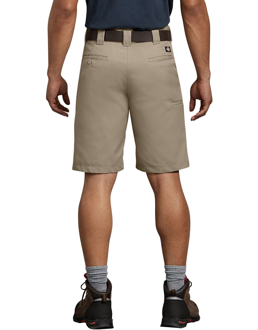 DICKIES Regular Fit Flex Walkshorts Desert Khaki MENS APPAREL - Men's Walkshorts Dickies