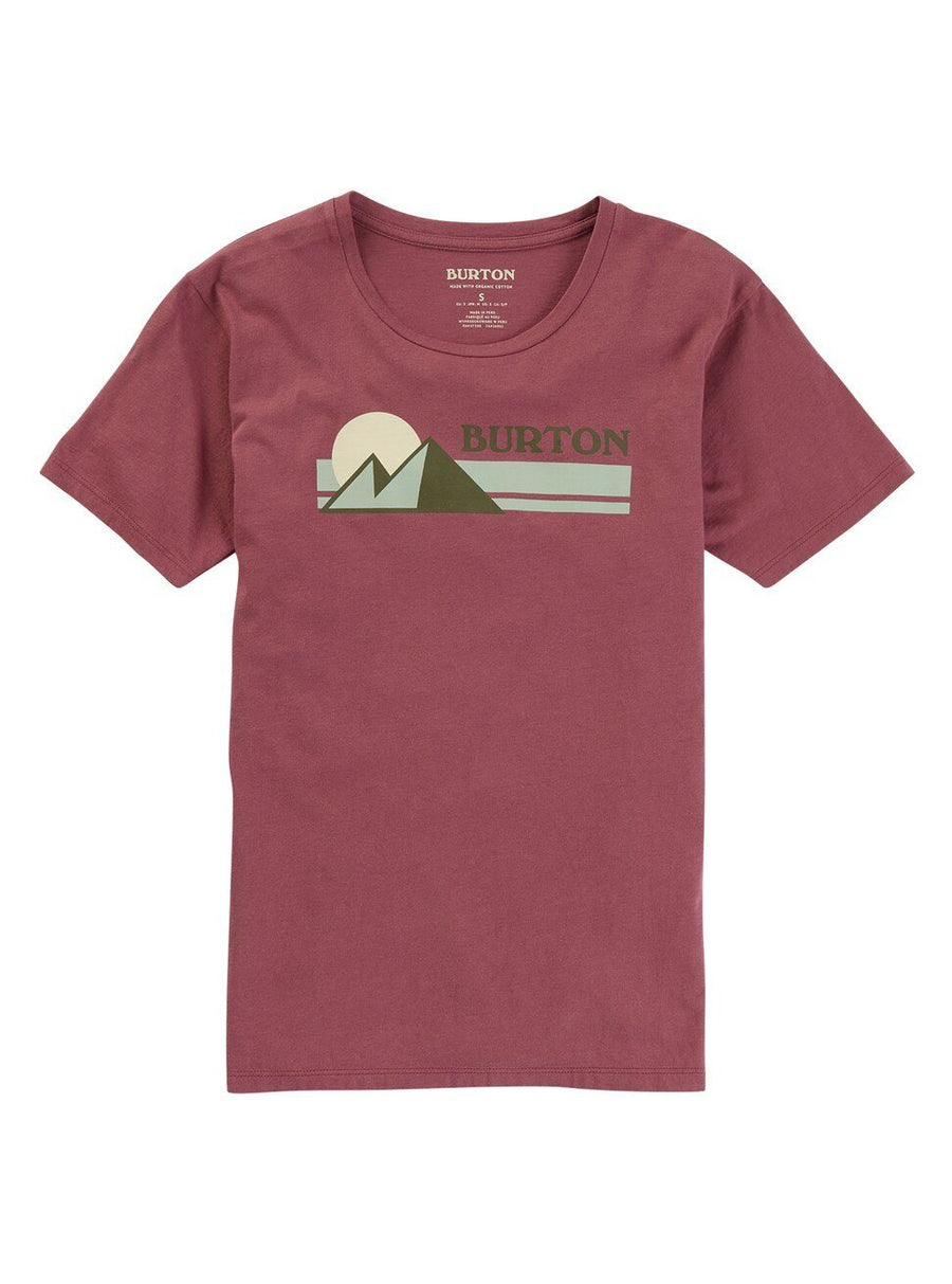 BURTON Ashmore T-Shirt Women's Rose Brown WOMENS APPAREL - Women's T-Shirts Burton
