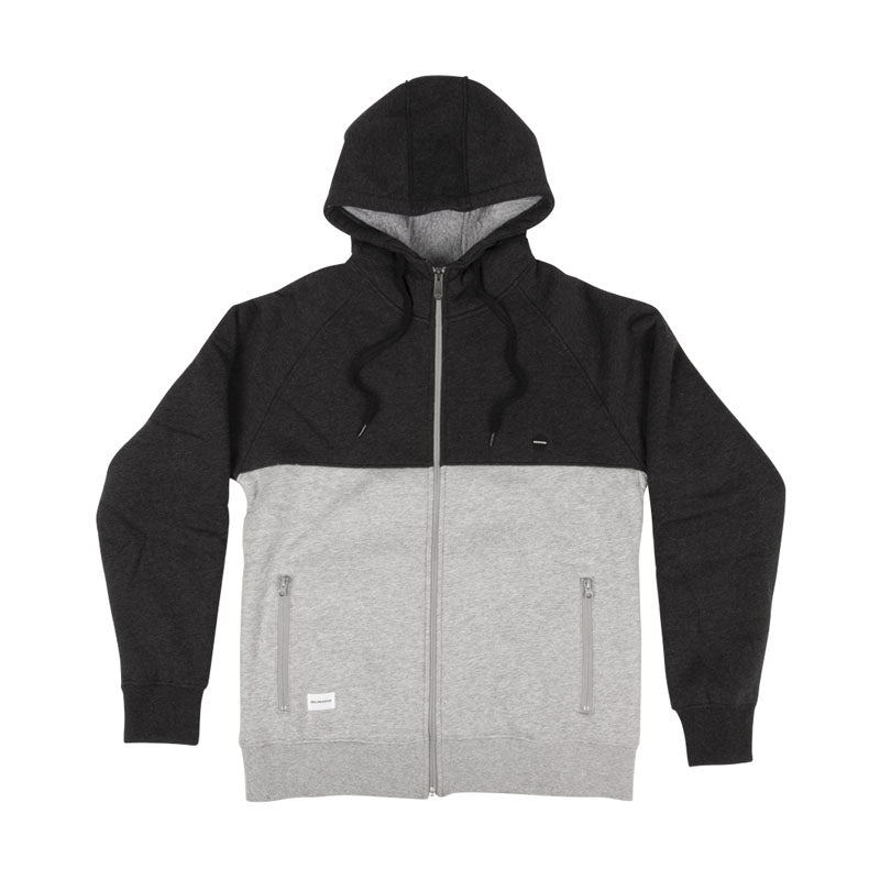 RDS Mountain Zip Hoodie Heather Grey/Dark Heather